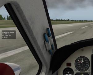 Оценка мягкости посадки