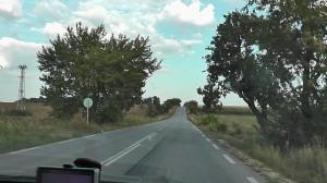 Типичная болгарская дорога